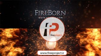 ساخت حرفه ای لوگو با افکت انفجار و آتش