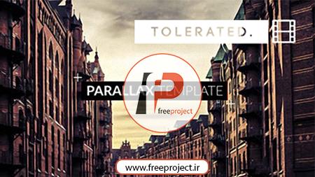 پروژه رایگان  افترافکت ویژه ساخت اسلایدشو پارالکس