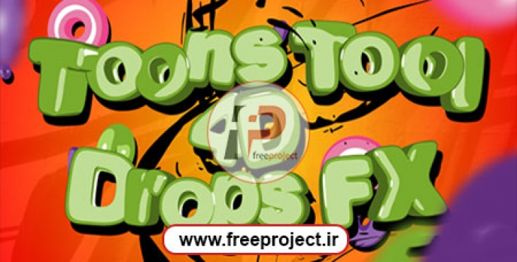 Videohive Toons Tool 4D (Drops FX)