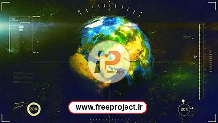 پروژه زوم کردن و مشخص کردن یک مکان بر روی کره زمین