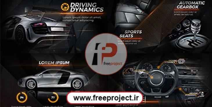 New Black Car Promo Preview Image 730x370 - پروژه آماده افترافکت ویژه ساخت تبلیغات از آپشن های اتومبیل
