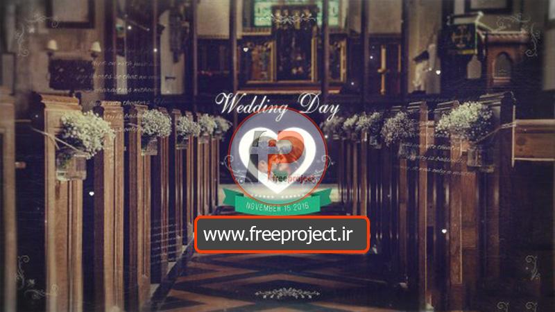 اسلایدشو عکس برای عکسهای عروسی با افترافکت