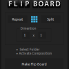 ANIMATED 3D FLIP FLAP BOARD