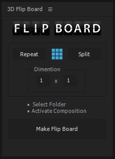 ANIMATED 3D FLIP FLAP BOARD