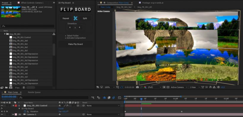 2017 04 26 19 06 01 819x397 - اسکریپت افترافکت برای ساخت انیمیشن  FLIP FLAP BOARD با یک کلیک | 3D FLIP BOARD