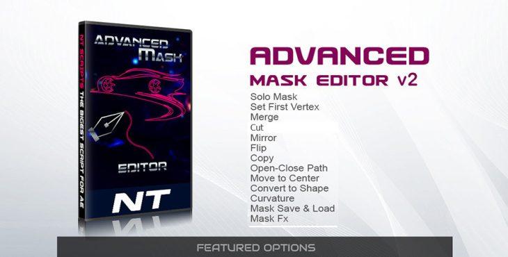 دانلود رایگان اسکریپت افترافکت Advanced Mask Editor v2 Promo