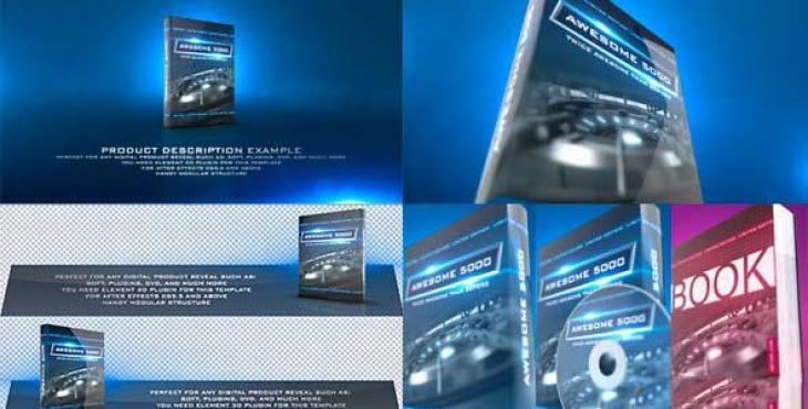 1550028600 lND8wfH 730x370 - پروژه آماده افترافکت ویژه معرفی پک های نرم افزاری | Product Revealer