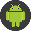34 android flat - ساخت آرم استیشن بسیار زیبا در قالب لامپ های نئون کروی کوپک