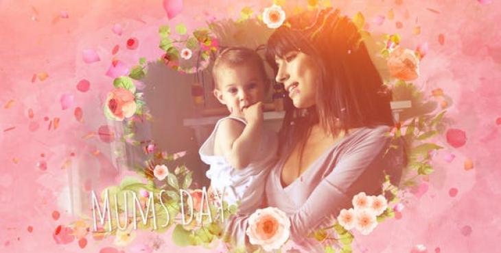 Mums Day Slideshow Image 730x370 - پروژه آماده افترافکت ویژه ساخت اسلایدشو عکس مادر و کودک