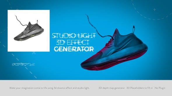 20761601 - پروژه آماده افترافکت ویژه بعد دادن به تصاویر بصورت سه بعدی | 3D Effect Generator