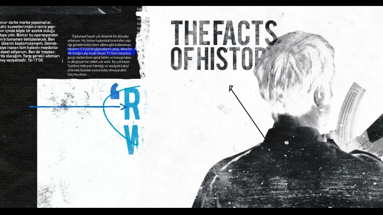 پروژه آماده افترافکت ویژه ساخت تیتراژ برای برنامه های سیاسی و مستند های تاریخی