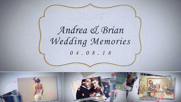 پروژه آماده افترافکت برای آلبوم عکس عروسی
