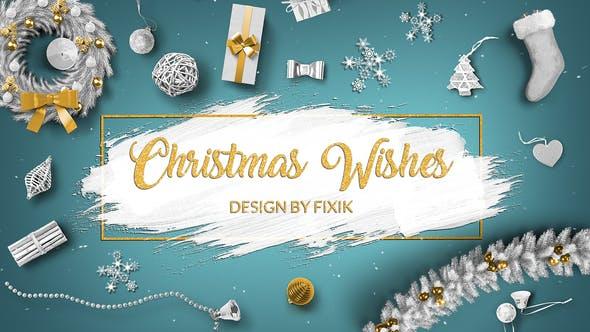 پروژه آماده افترافکت برای کریسمس