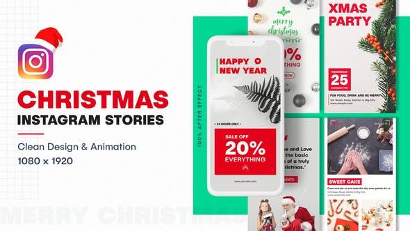 ساخت استوری اینستاگرام با موضوع کریسمس