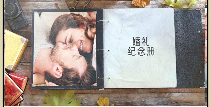 پروژه افترافکت برای ساخت آلبوم سه بعدی عکس عروسی