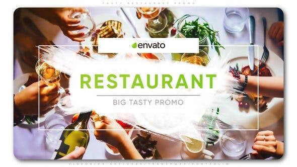 پروژه افترافکت برای ساخت تیزر تبلیغات رستوران