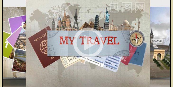 پروژه افترافکت برای آژانس مسافرتی