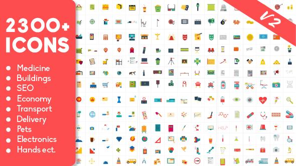 پک جامع آیکون های متحرک برای ساخت موشن گرافیک