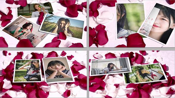 دانلود پروژه آماده افترافکت برای آلبوم عکس عاشقانه