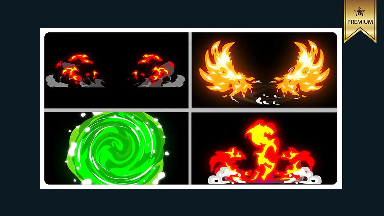 دانلود فوتیج انفجار و آتش