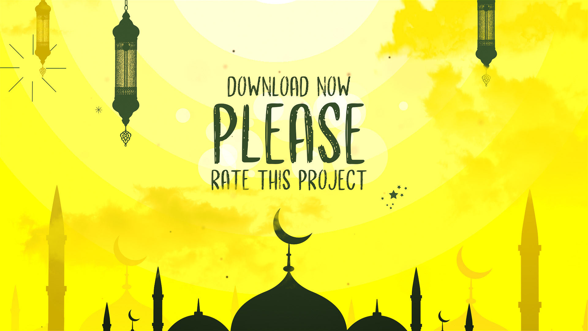 پروژه افترافکت ماه رمضان