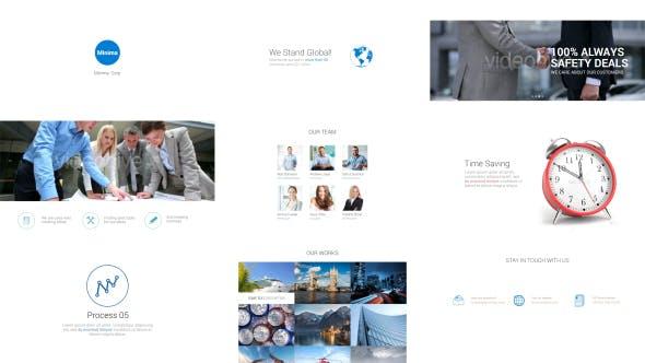 دانلود پروژه آماده افترافکت: معرفی خدمات و محصولات