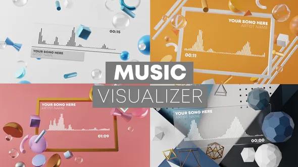 پروژه افترافکت موزیک ویژوالایزر