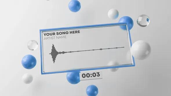پروژه آماده افترافکت موزیک ویژوالایزر