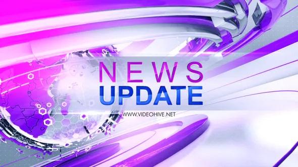 پروژه آماده افترافکت پخش اخبار