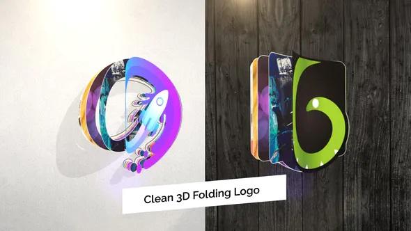 پروژه افترافکت لوگو سه بعدی