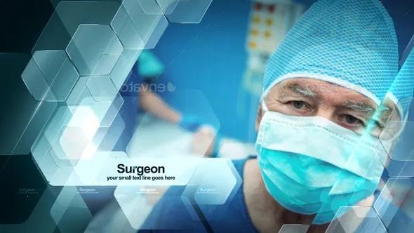 پروژه اماده افترافکت مرکز پزشکی درمانی
