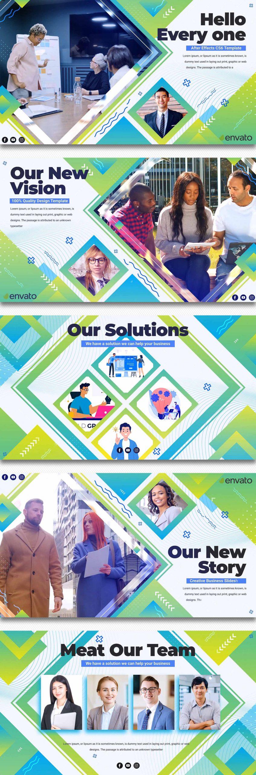 پروژه آماده افترافکت معرفی شرکت