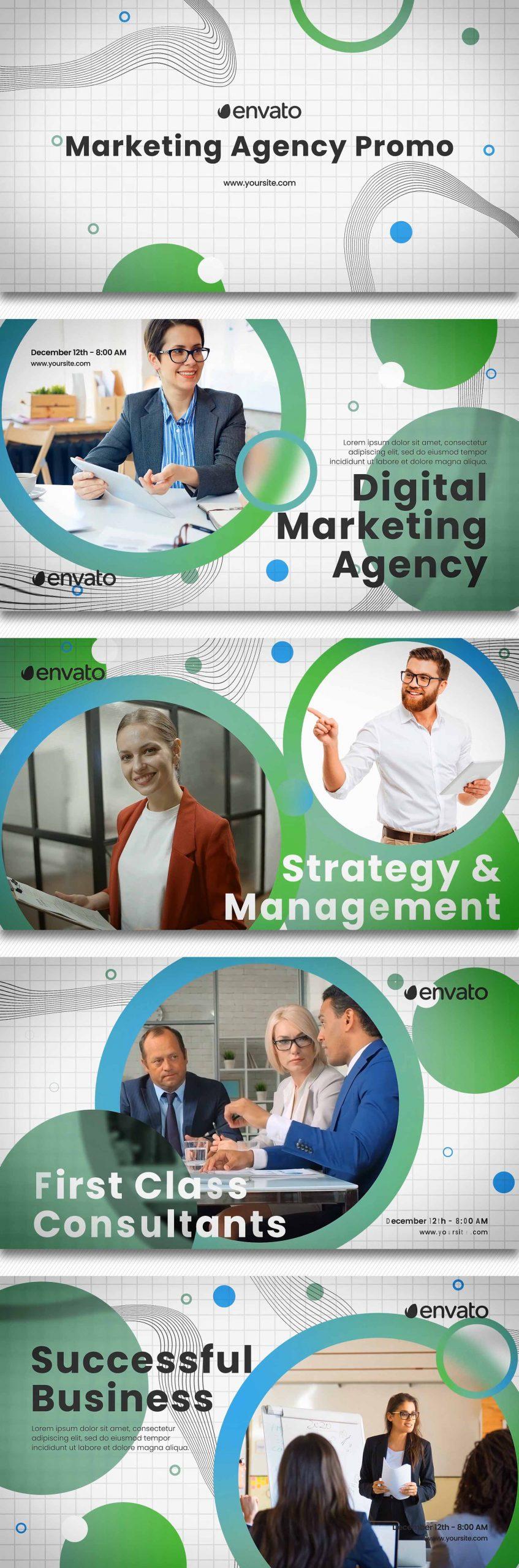 پروژه آماده افترافکت بازاریابی و تبلیغات